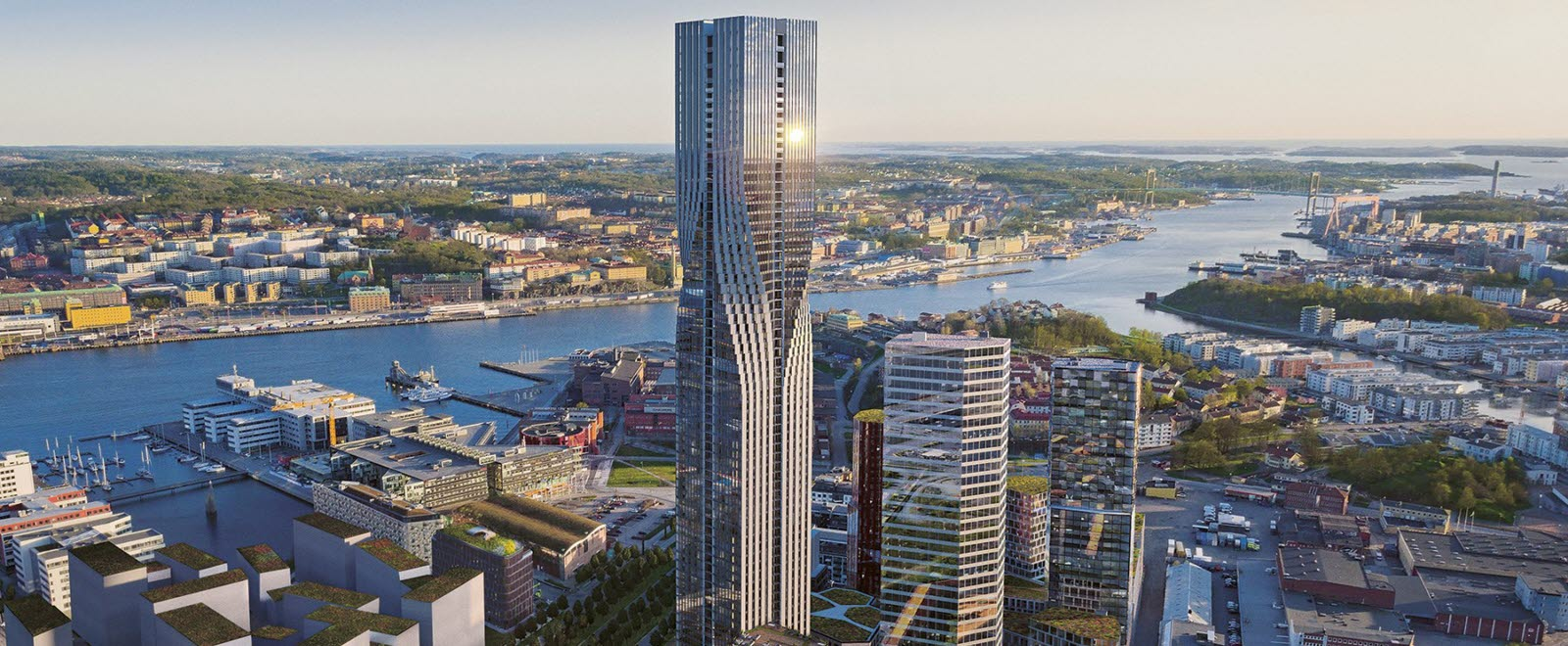 The tallest building in Scandinavia